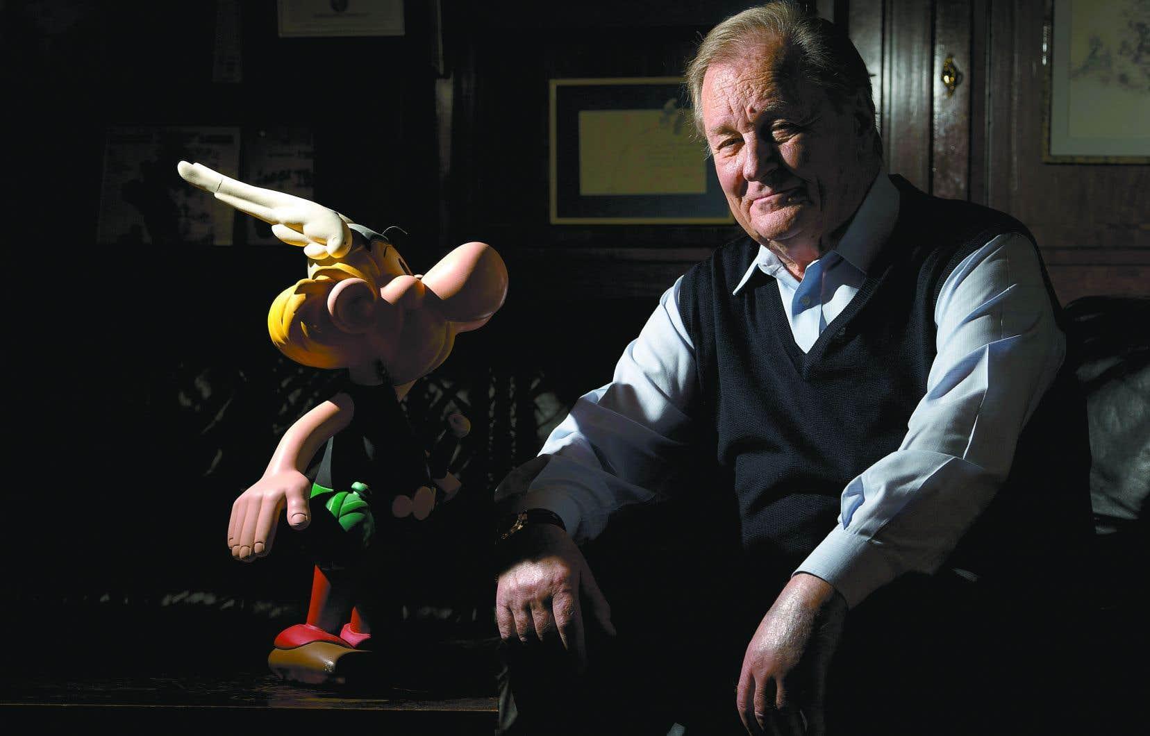 <p>La carrière du dessinateur d'Astérix et Obélix, Albert Uderzo, a pris son envol en 1950, peu de temps avant qu'il ne rencontre son complice René Goscinny.</p>