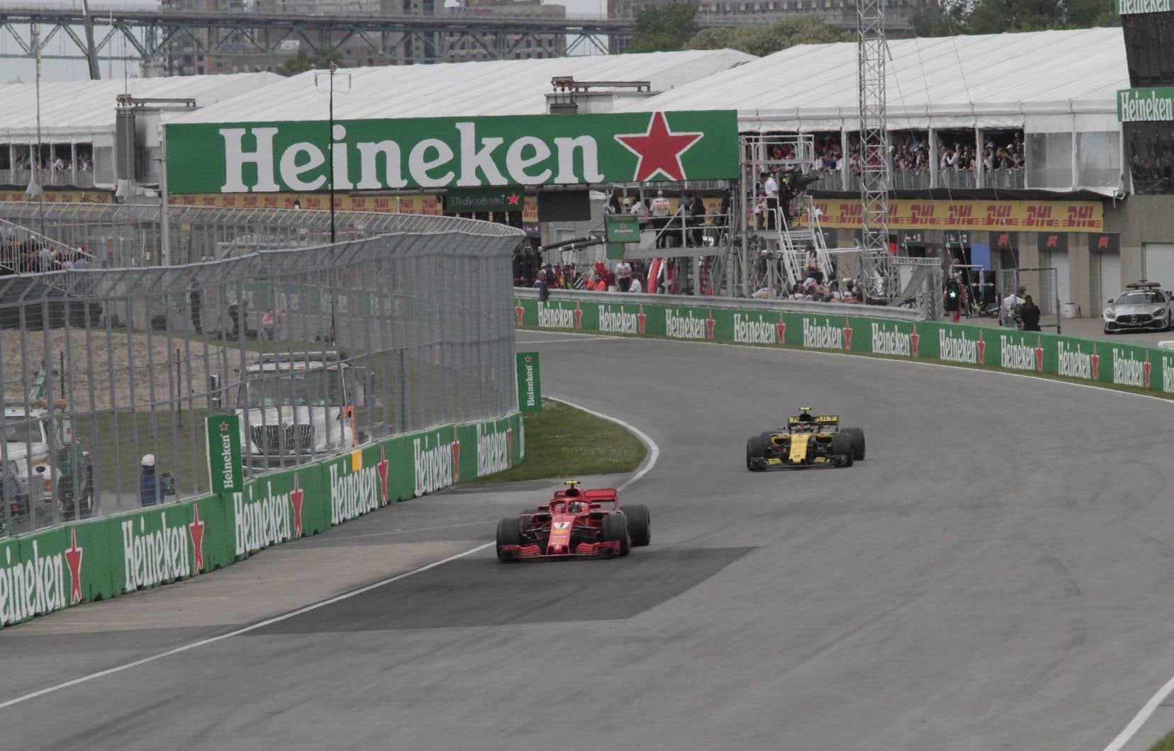Il n'estpas exclu la possibilité que l'épreuve montréalaise du Grand Prix de Formule 1 soit déplacée.