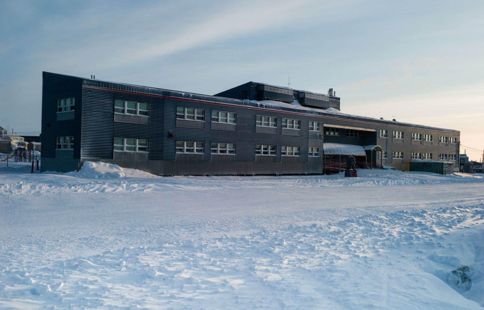 L'école Iguarsivik à Puvirnituq, au Nunavik