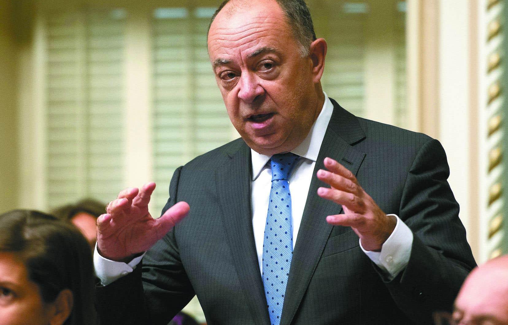 Christian Dubé, président du Conseil du Trésor