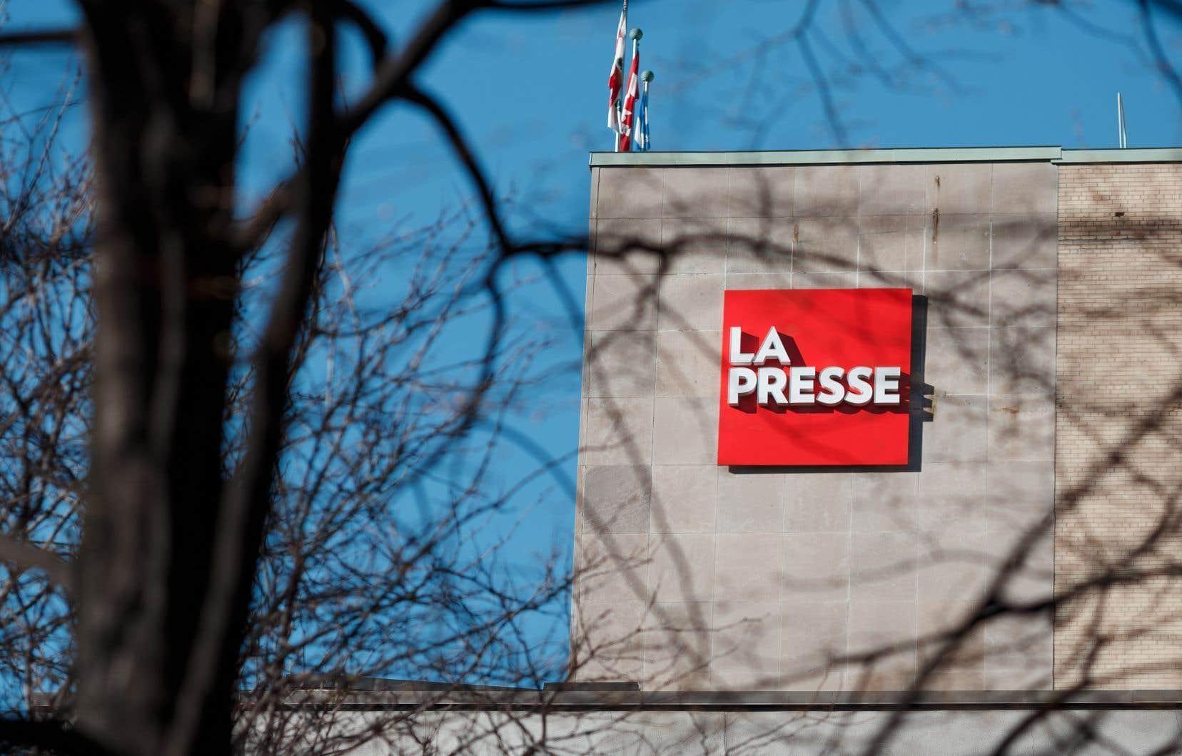 Le quotidien<em> La Presse</em> a annoncé à ses employés jeudi après-midi que les salaires de tous les employés seraient baissés de 10% jusqu'en 2021.