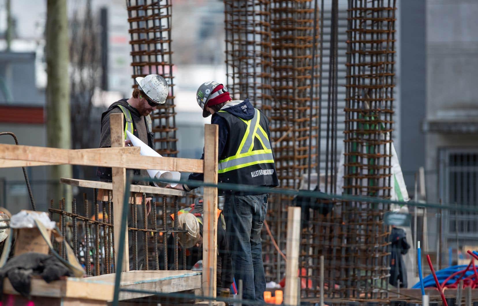 Au Canada, le secteur de la construction fait l'objet de mesures d'aides économiques.