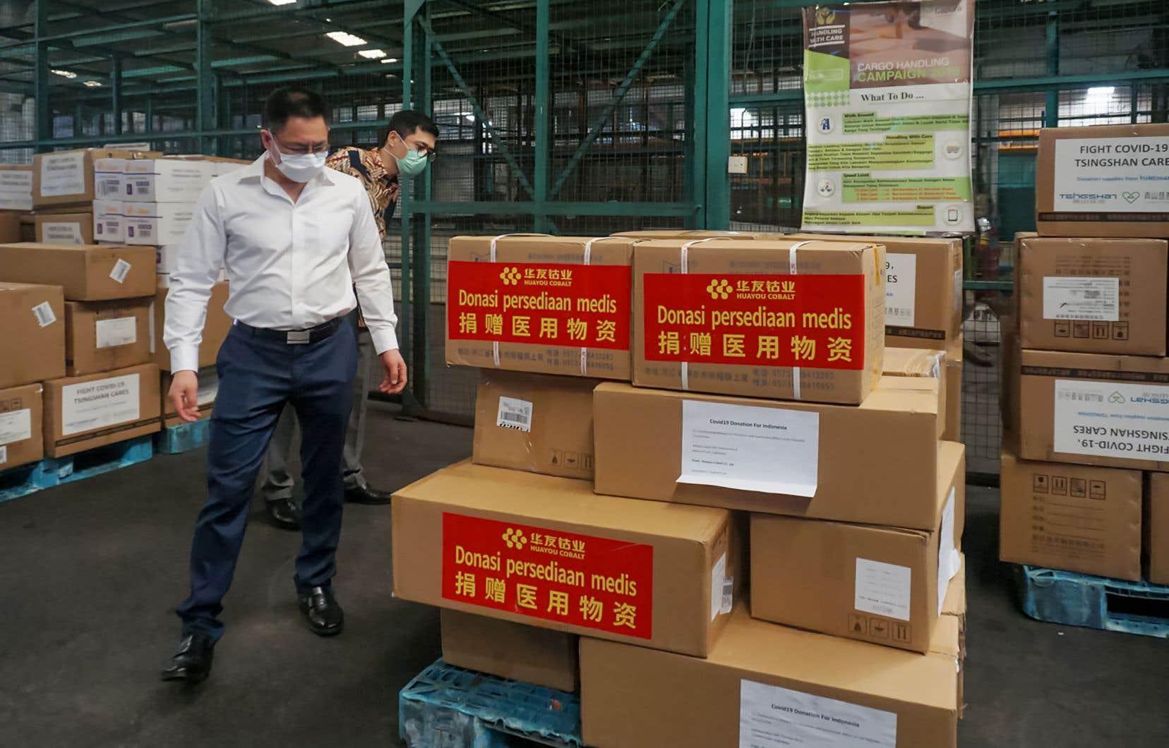 L'ambassade de Chine en France se livre ainsi à une campagne décomplexée de promotion du système politique chinois et de sa «réussite» dans la bataille contre le coronavirus.