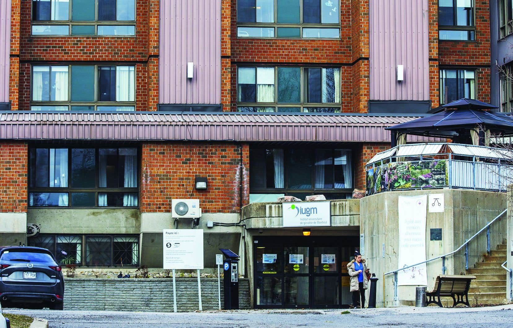 «Pourquoi les CHSLD ne bénéficient pas des mêmes protocoles que le milieu hospitalier pour lutter contre la pandémie», se demandeAnne Kettenbeil présidente du Comité des résidents du pavillon Alfred-Desrochersde l'Institut de gériatrie de Montréal.