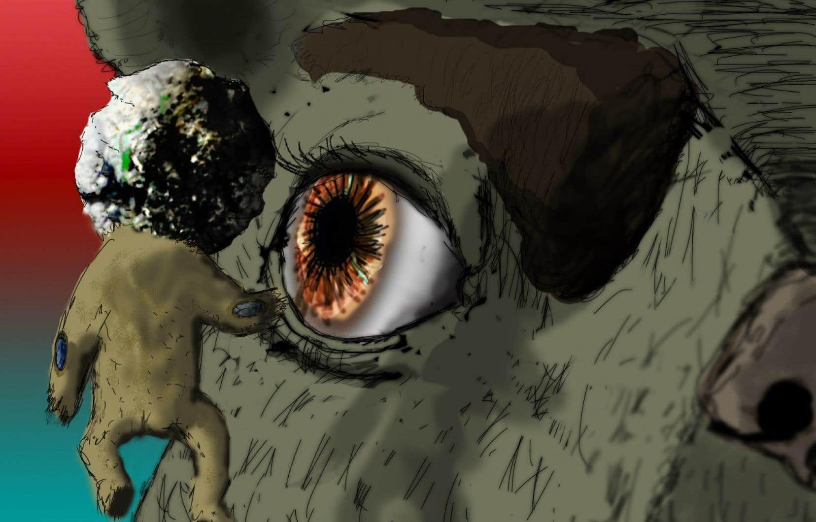 «Infini» est un jeu étrange, expérimental même. On y prend la place d'Espoir, un personnage non genré qui se retrouve perdu dans une sorte d'univers intérieur déjanté.