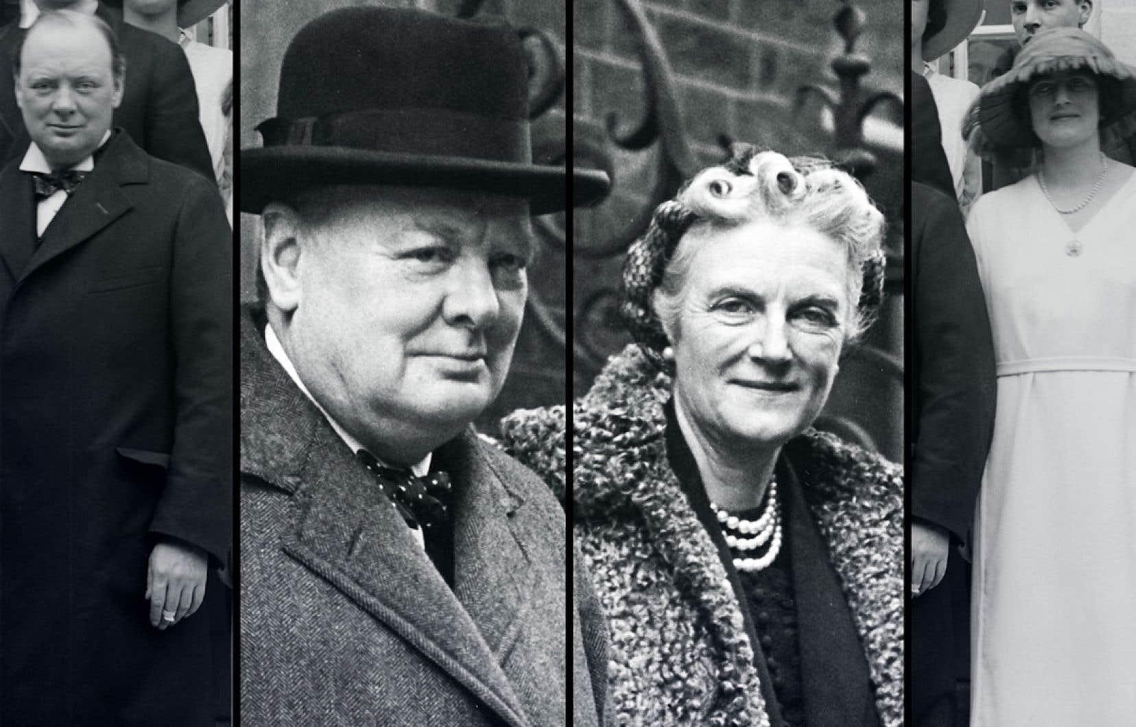 À travers le regard de la femme de Winston Churchill, Clementine, Guillaume Perez et Christian Huleu racontent un autre passé.