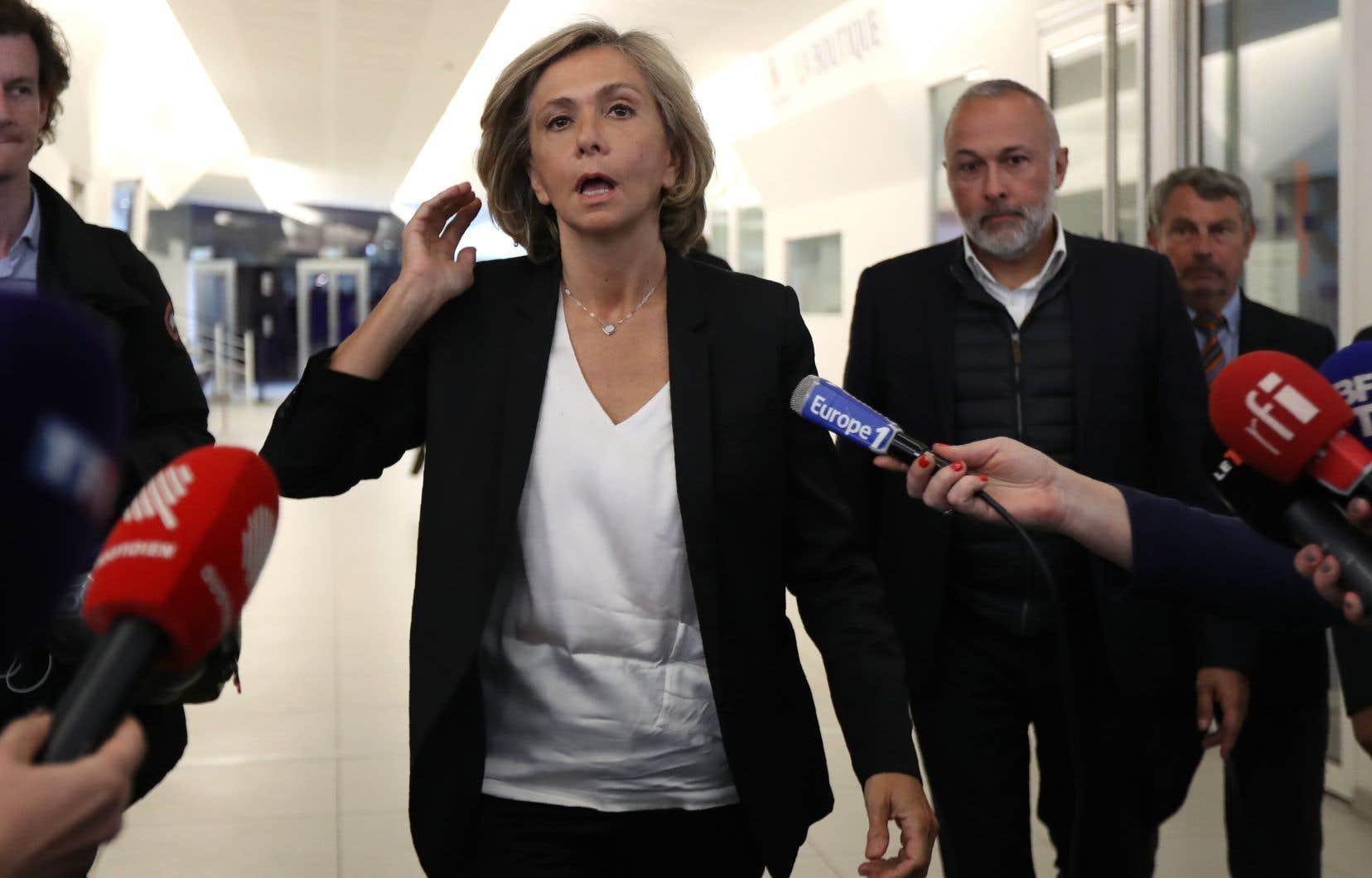 La présidente de la région parisienne de l'Île-de-France, Valérie Pécresse