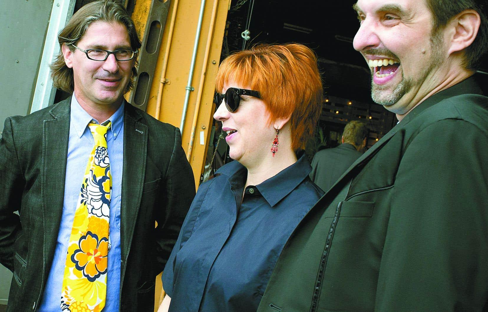 L'émission satirique «Infoman», de Jean-René Dufort (à gauche), a fracassé un record de fréquentation, avec un million de téléspectateurs, en pleine crise sanitaire.