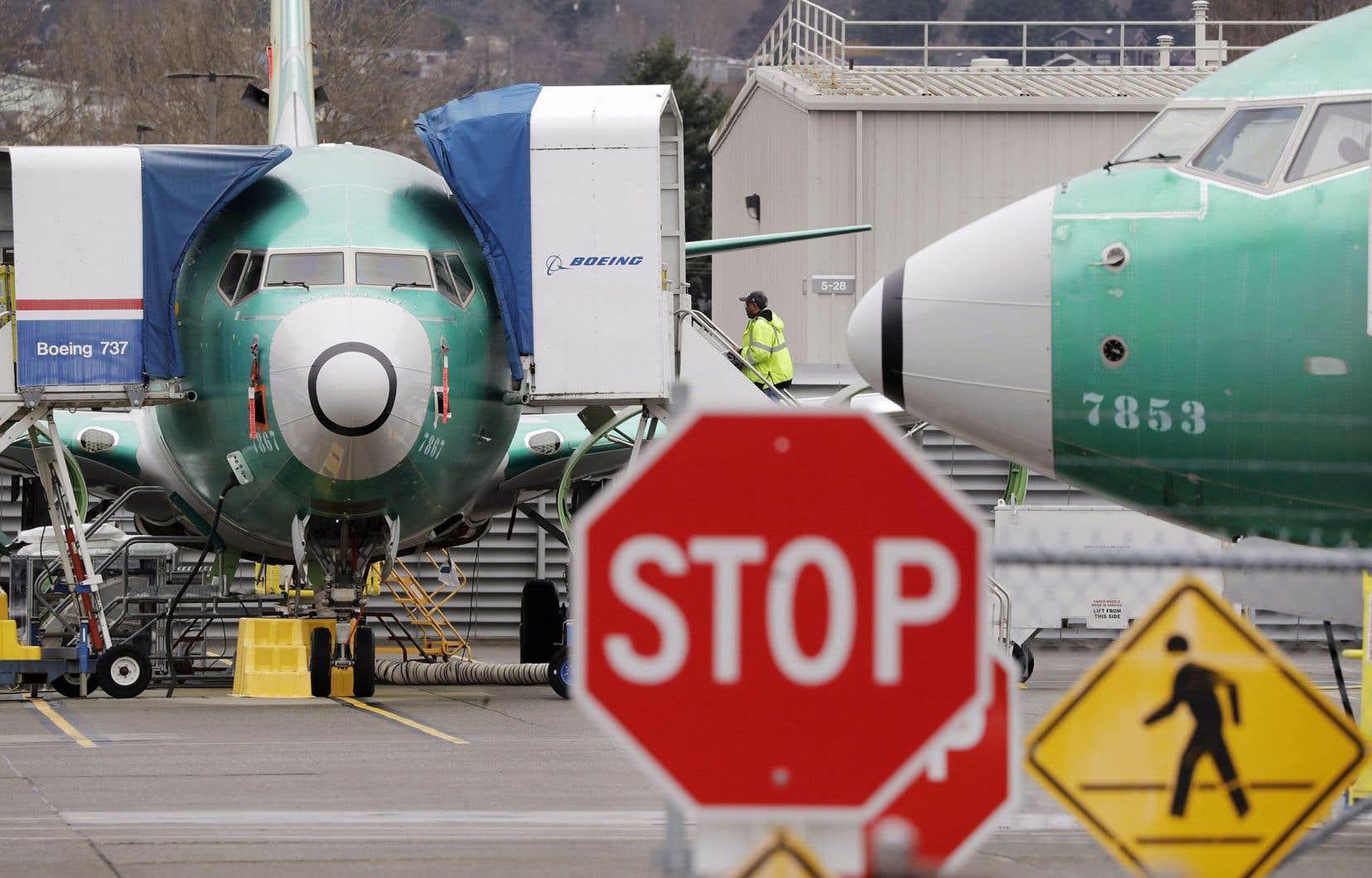 La pandémie de coronavirus a poussé Boeing à solliciter une aide publique de 60milliards de dollars pour lui et ses fournisseurs.