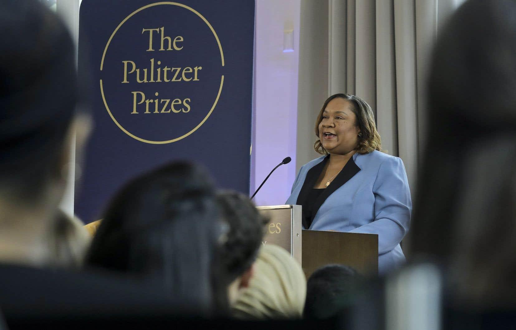 L'administratrice du prix Pulitzer, Dana Canedy