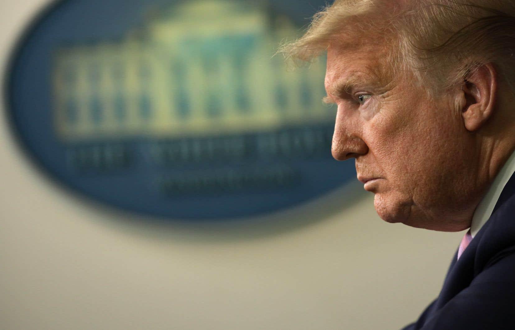 Donald Trump est le premier président américain depuis Richard Nixon à refuser de rendre publique sa situation fiscale.