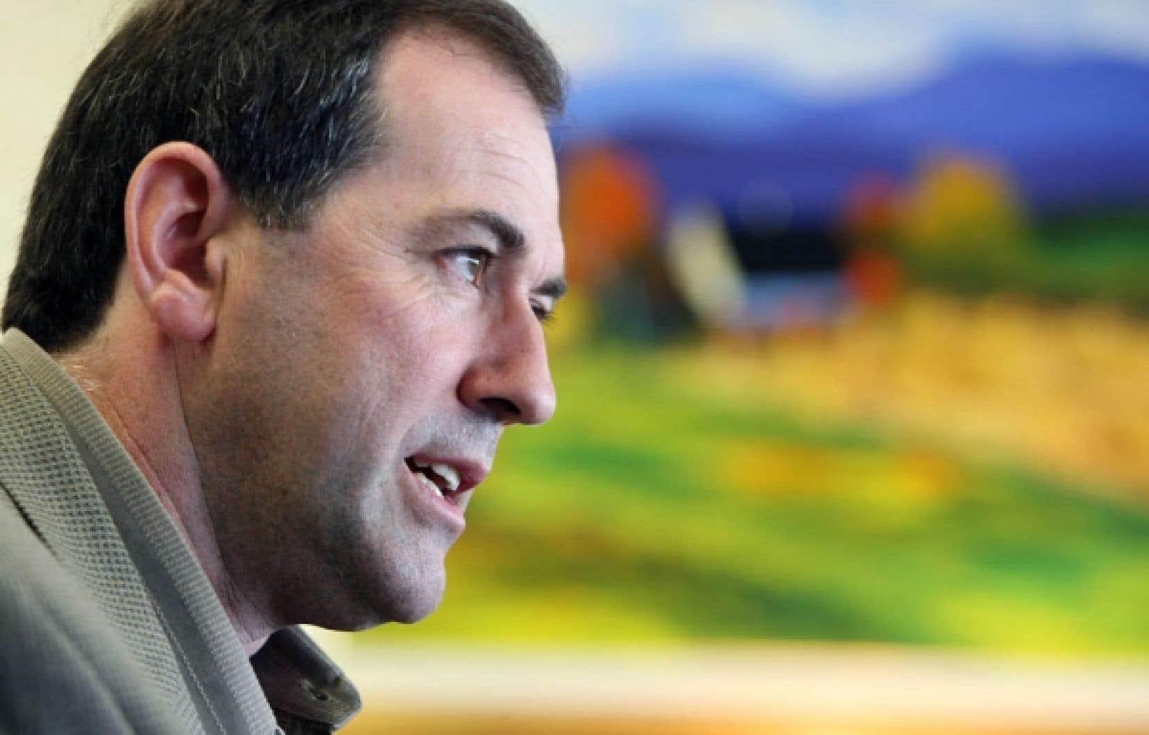 Christian Lacasse ne décolère pas contre le gouvernement du Québec.<br />