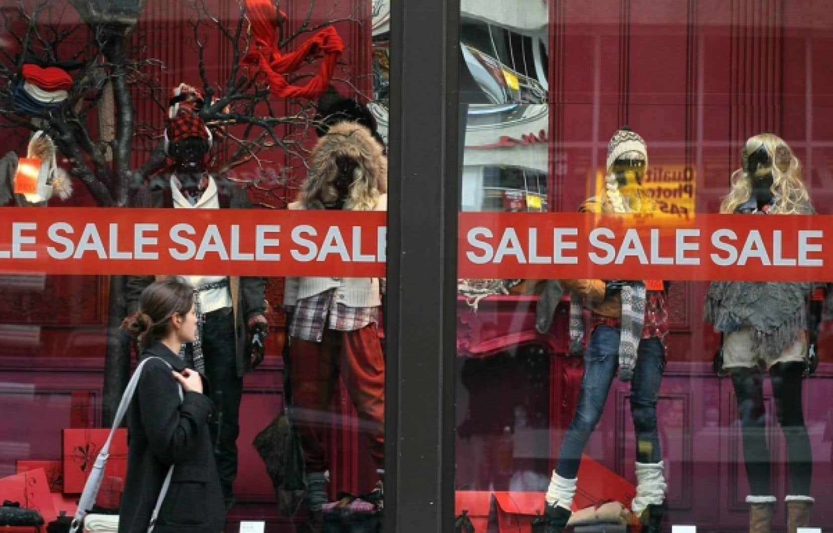 Les ventes au détail ont continué de progresser aux États-Unis, en novembre.<br />