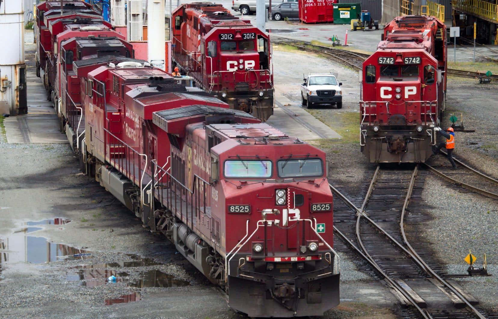 La semaine dernière, le nombre de wagons pleins a chuté de plus de 17% par rapport à l'année dernière.