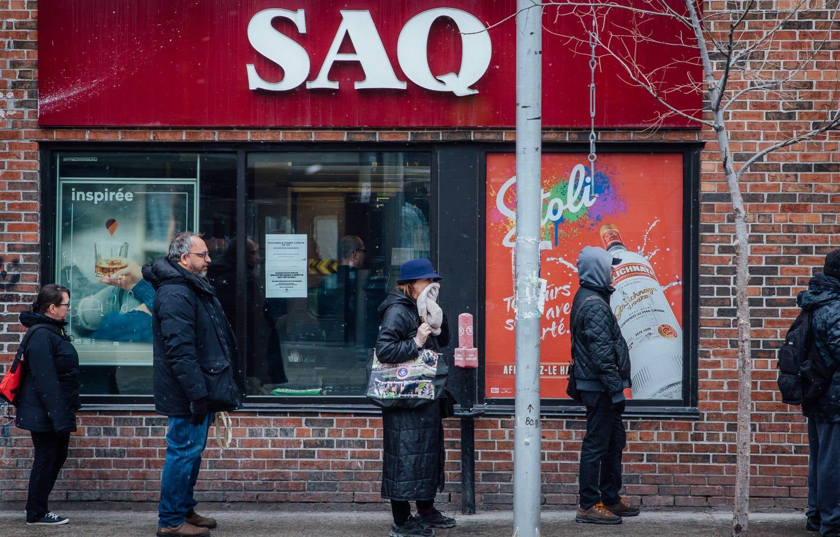 La SAQ a pu poursuivre ses activités et s'attend même à verser davantage que le 1,2milliard $ attendu.