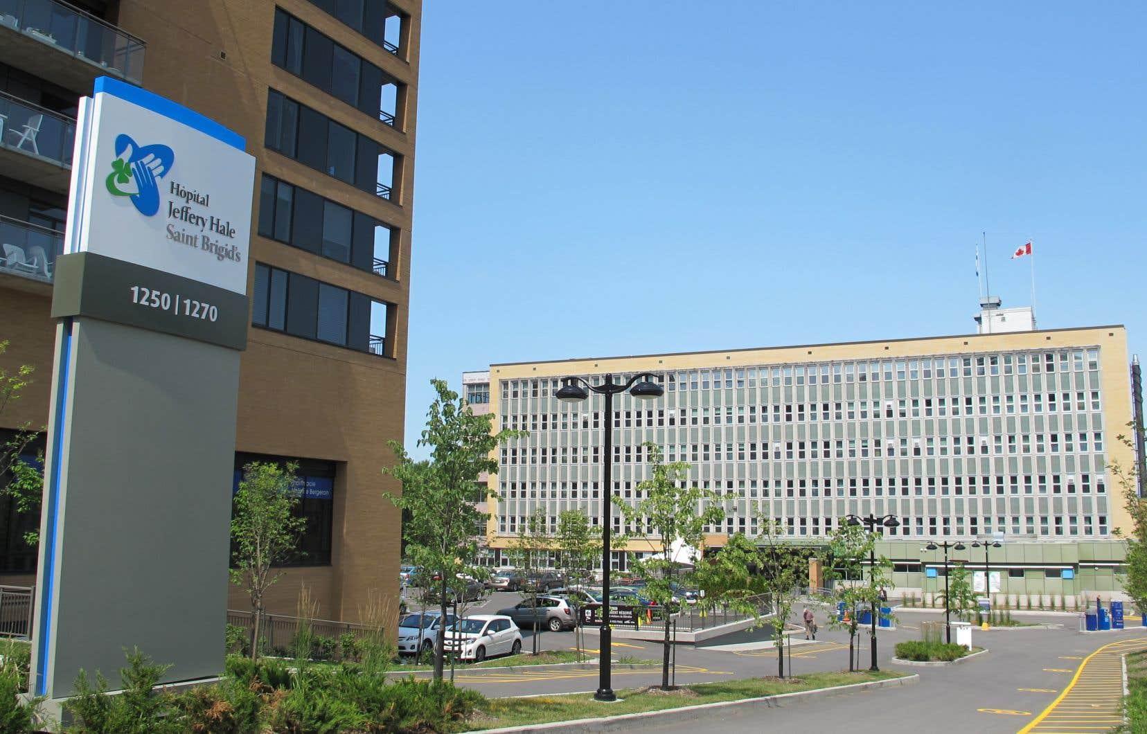 L'Hôpital Jeffery Hale, à Québec, est le principal lieu d'éclosion de la COVID-19 dans la région de la Capitale-Nationale.