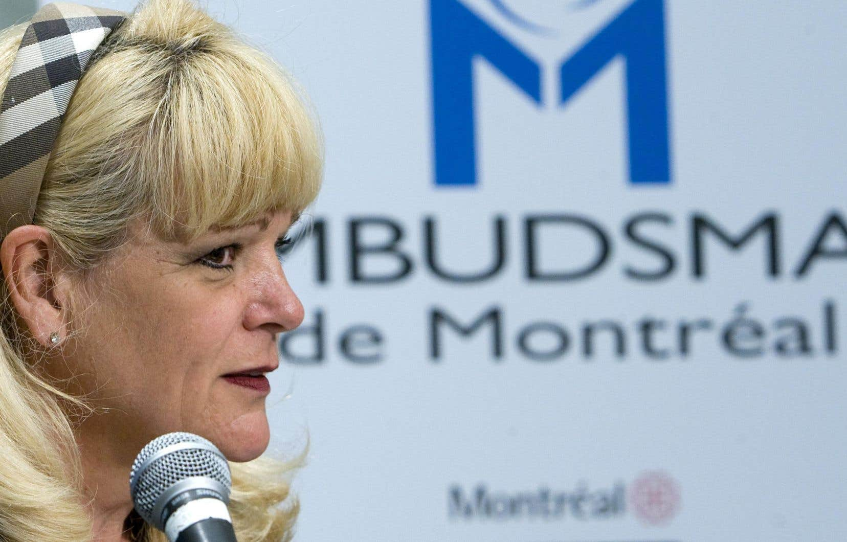 Johanne Savard est l'ombudsman de la Ville de Montréal depuis la création de ce poste, en 2003