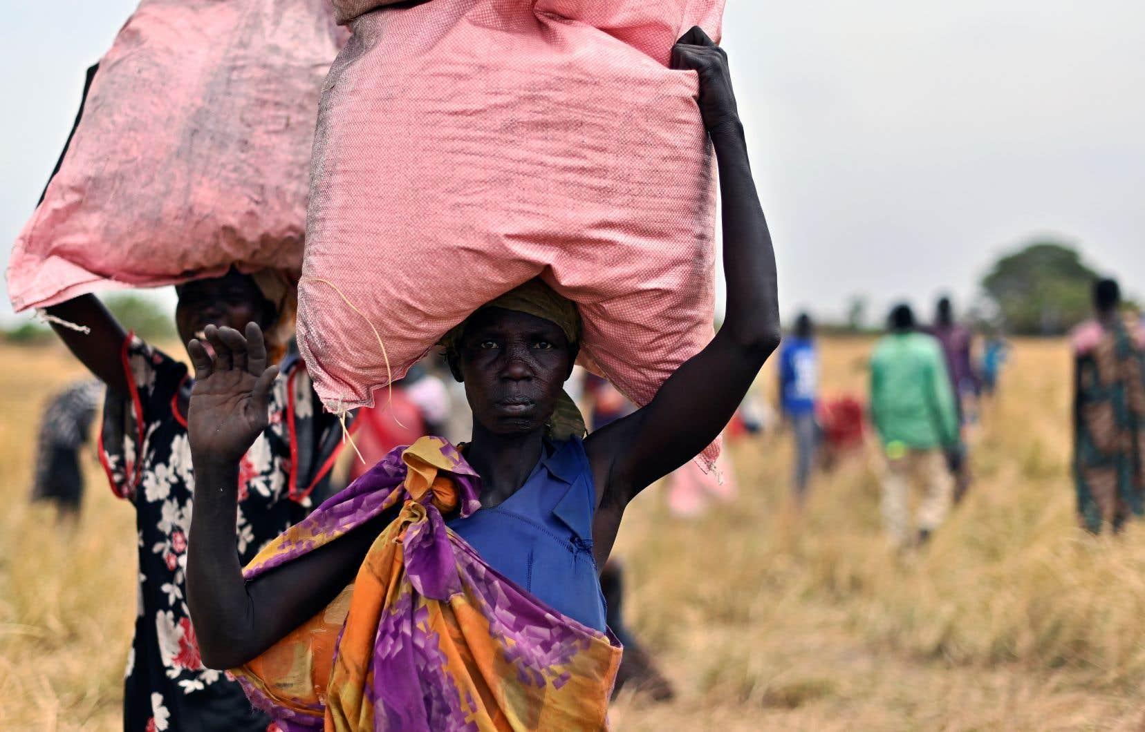 Le nombre de personnes au bord de la famine a nettement augmenté en 2019, passant de 113 à 135millions de personnes, en raison des conflits, des problèmes climatiques et des chocs économiques.