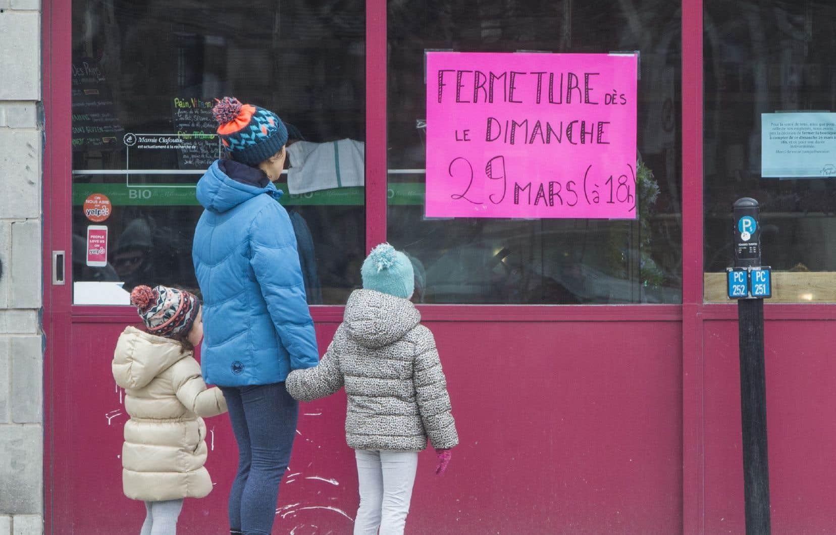 «Nos rues animées par les commerces forgent l'identité sociale de nos quartiers et donnent de la richesse et de l'authenticité à toutes les villes du Québec», affirment les auteurs.