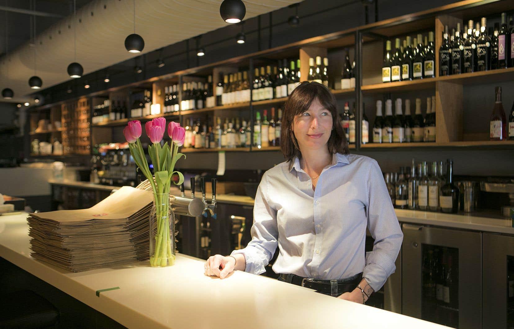 Mélanie Blanchette, propriétaire du Bouillon Bilk et du Cadet, ne s'est pas laissé abattre par la crise actuelle.