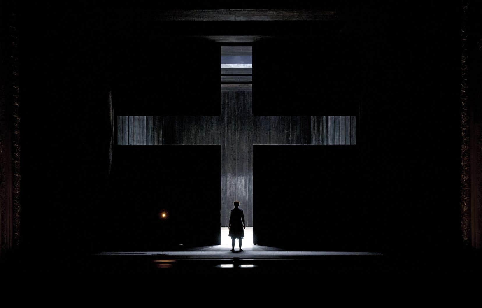 Une scène de l'opéra «Dialogue des carmélites»
