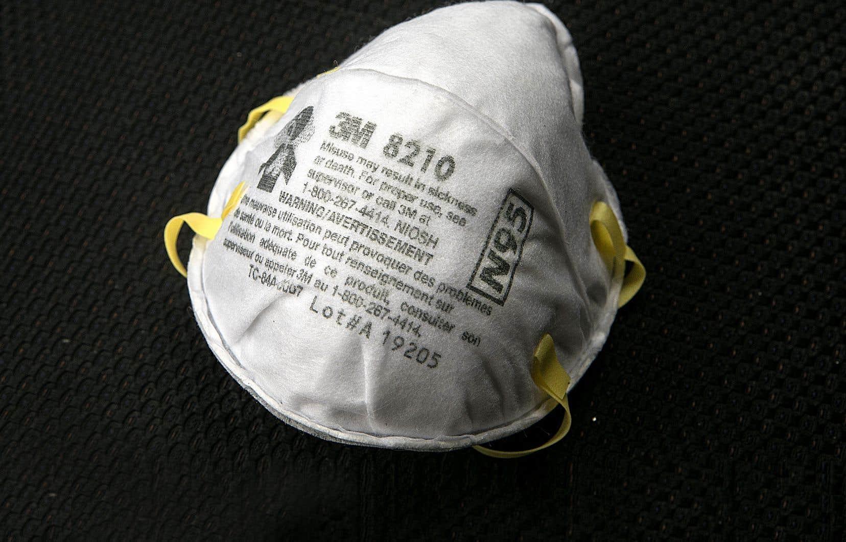 La Fédération de la santé et des services sociaux (FSSS-CSN) revendique depuis le début de la pandémie des masques N95 pour ses membres en CHSLD.