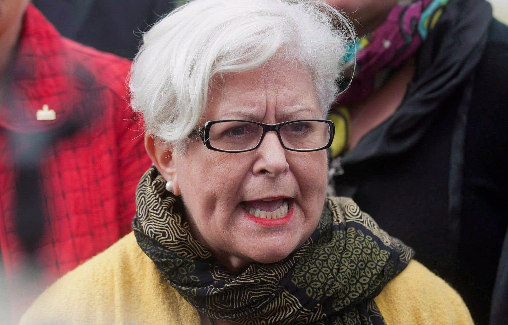 «Il faut revenir au large consensus qui s'était exprimé en février 2002», insiste Louise Harel (photo), ex-ministre et députée du Parti québécois.