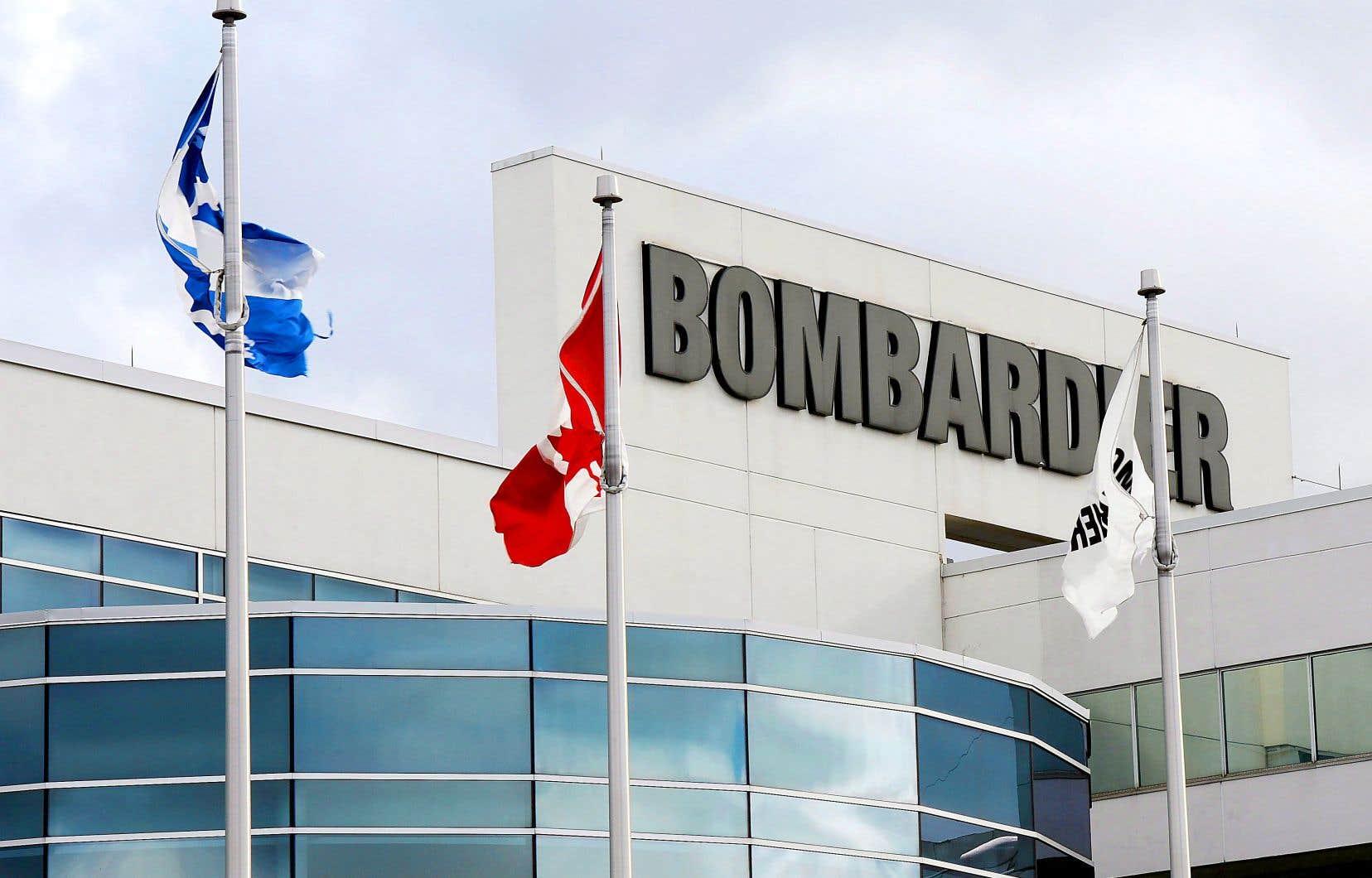 Bombardier a lancé le processus de rappel de ses employés basés au Canada.