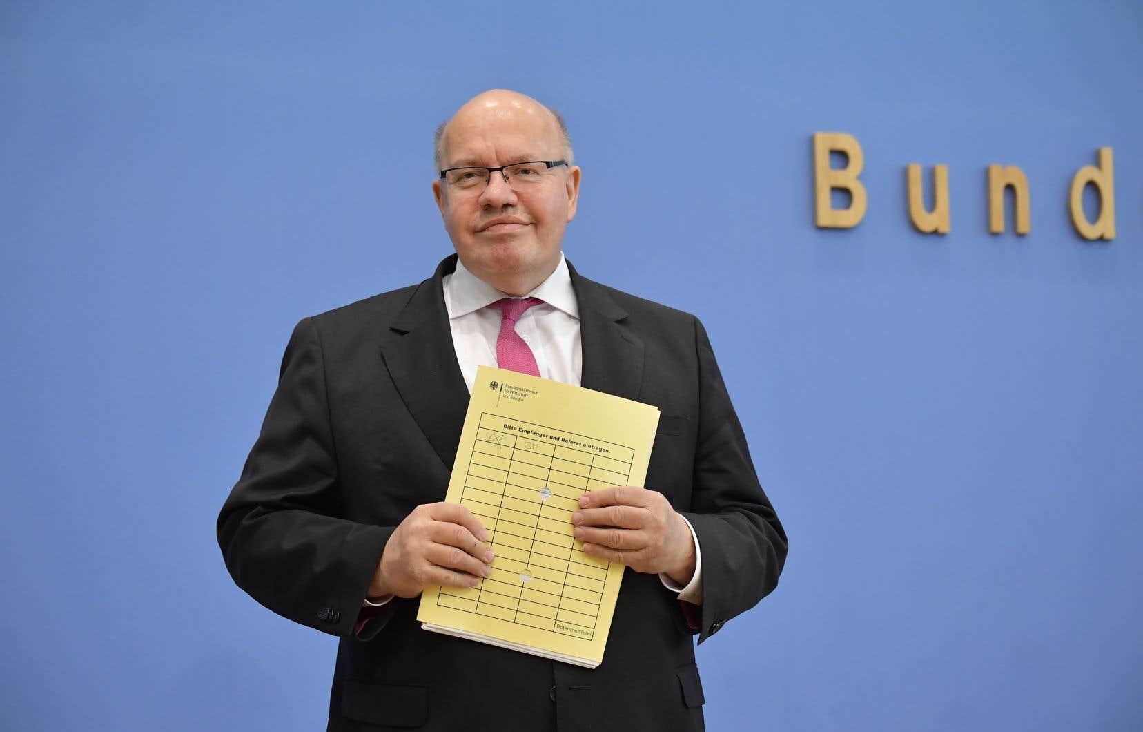 Le ministre allemand de l'Économie, Peter Altmaier