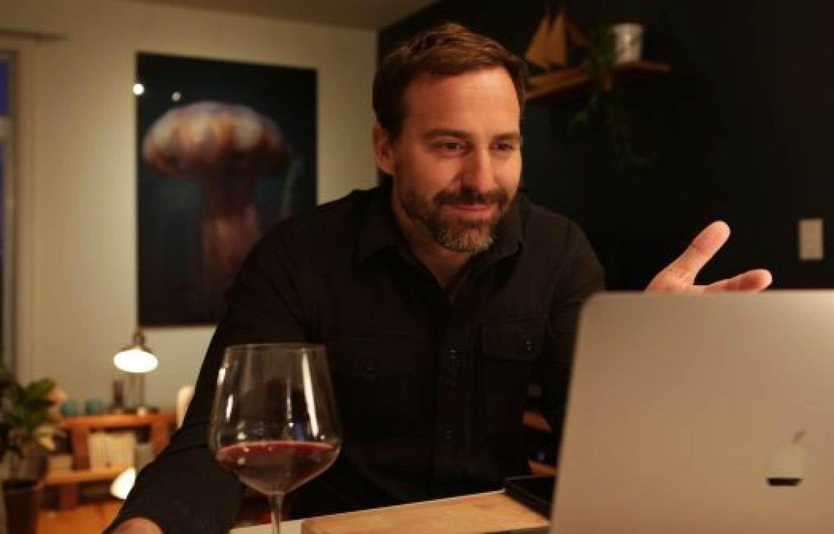 Jean-Michel Péloquin, animateur de l'émission «Expat»