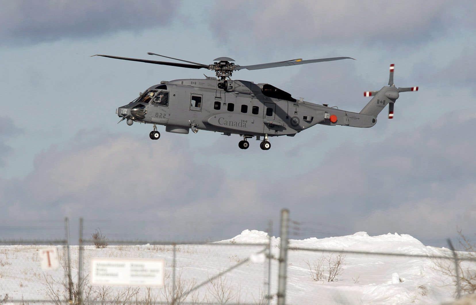 L'appareil qui a disparu est unCyclone CH-148, un modèle récent livré à l'armée canadienne en juin 2015.