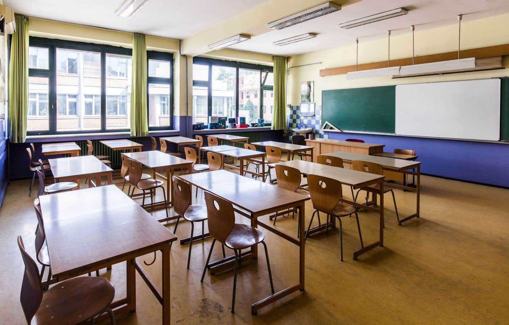 Des enseignants se sont fait ordonner de se rendre au travail même s'il n'y aura aucun élève sur place.