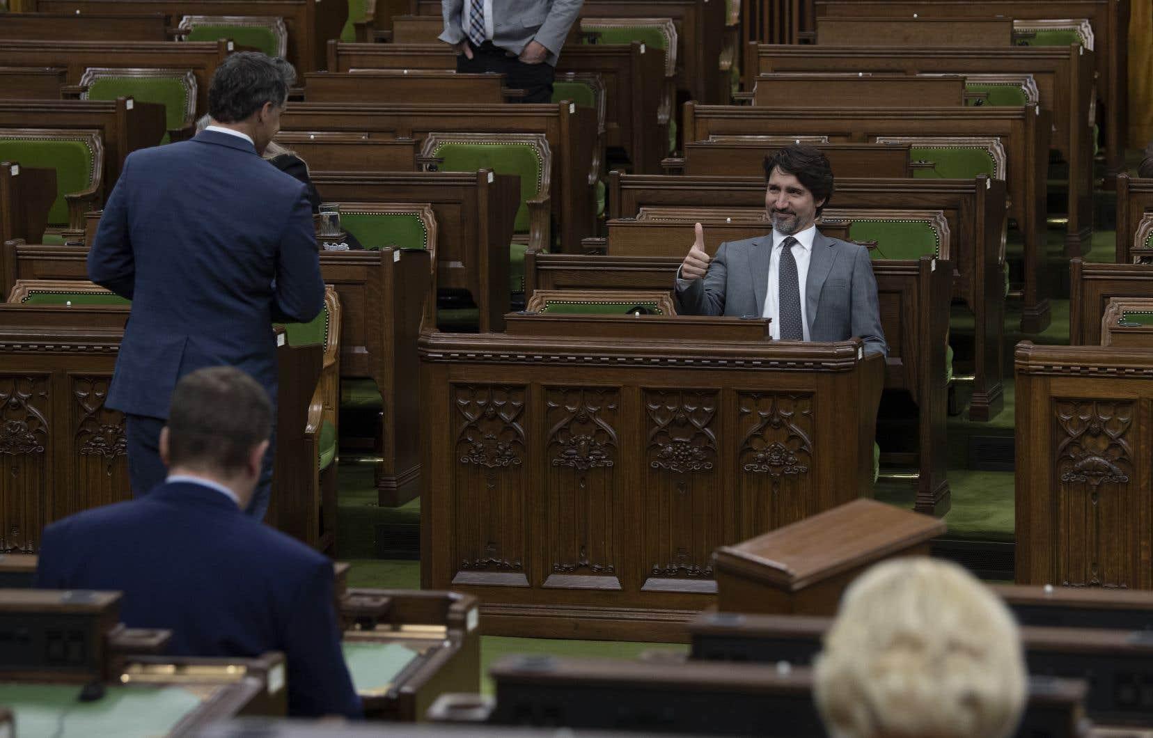Il a été convenu d'appuyer un projet de loi très vague accompagné d'une motion par laquelle le gouvernement promet de répondre aux demandes de l'opposition par voie réglementaire.