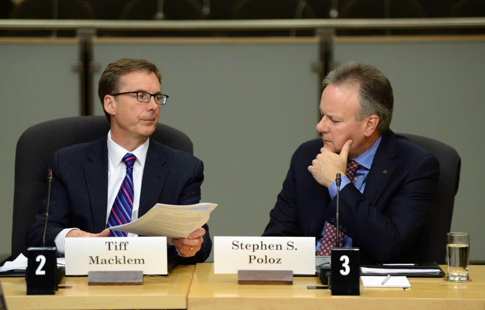 Tiff Macklem remplaceraStephen Poloz au poste de gouverneur de la Banque du Canada.
