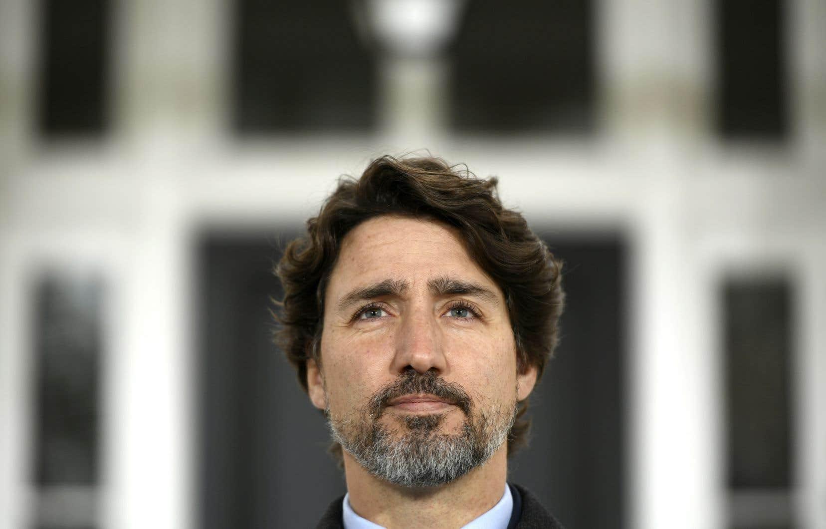 Justin Trudeau fait le point sur la pandémie de coronavirus.