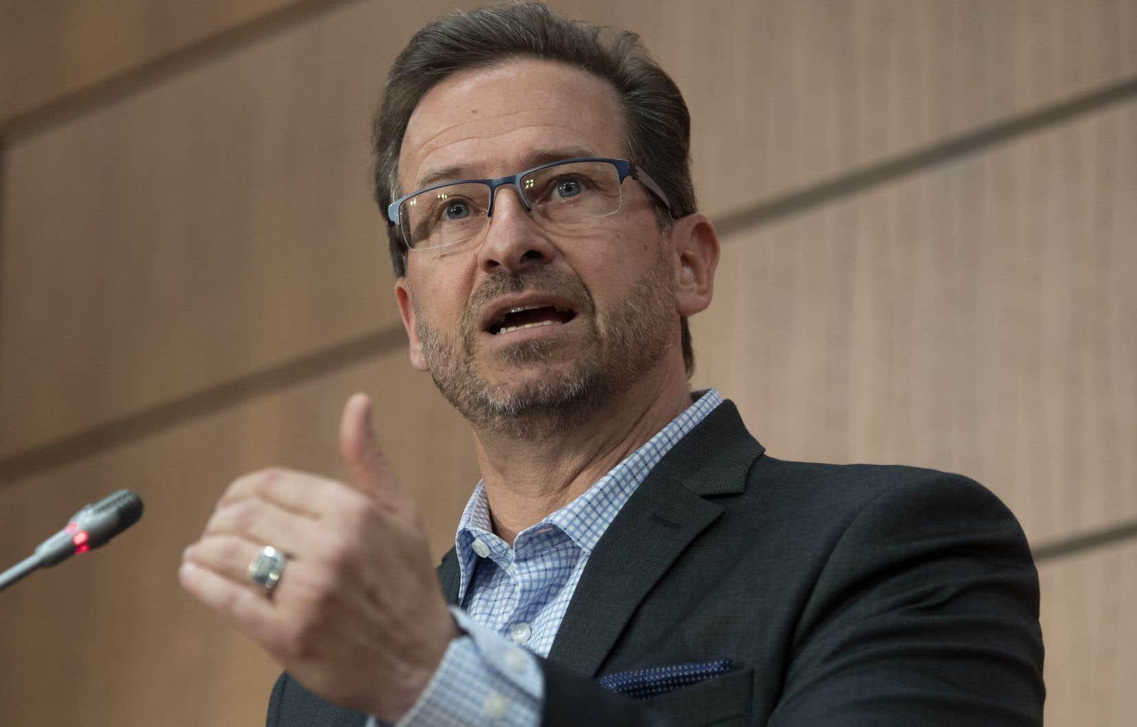 Le chef du Bloc québécois, Yves-François, a dit faire cette sortie publique en tant qu'allié des Autochtones.