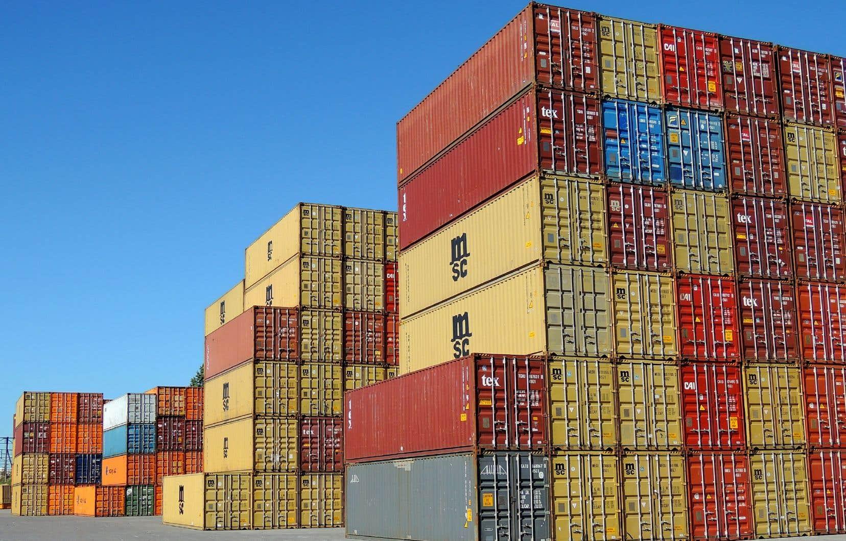 Les exportations de marchandises ont diminué de 4,7% pour se chiffrer à 46,3 milliards, ce qui représente la valeur la plus faible depuis janvier 2018.