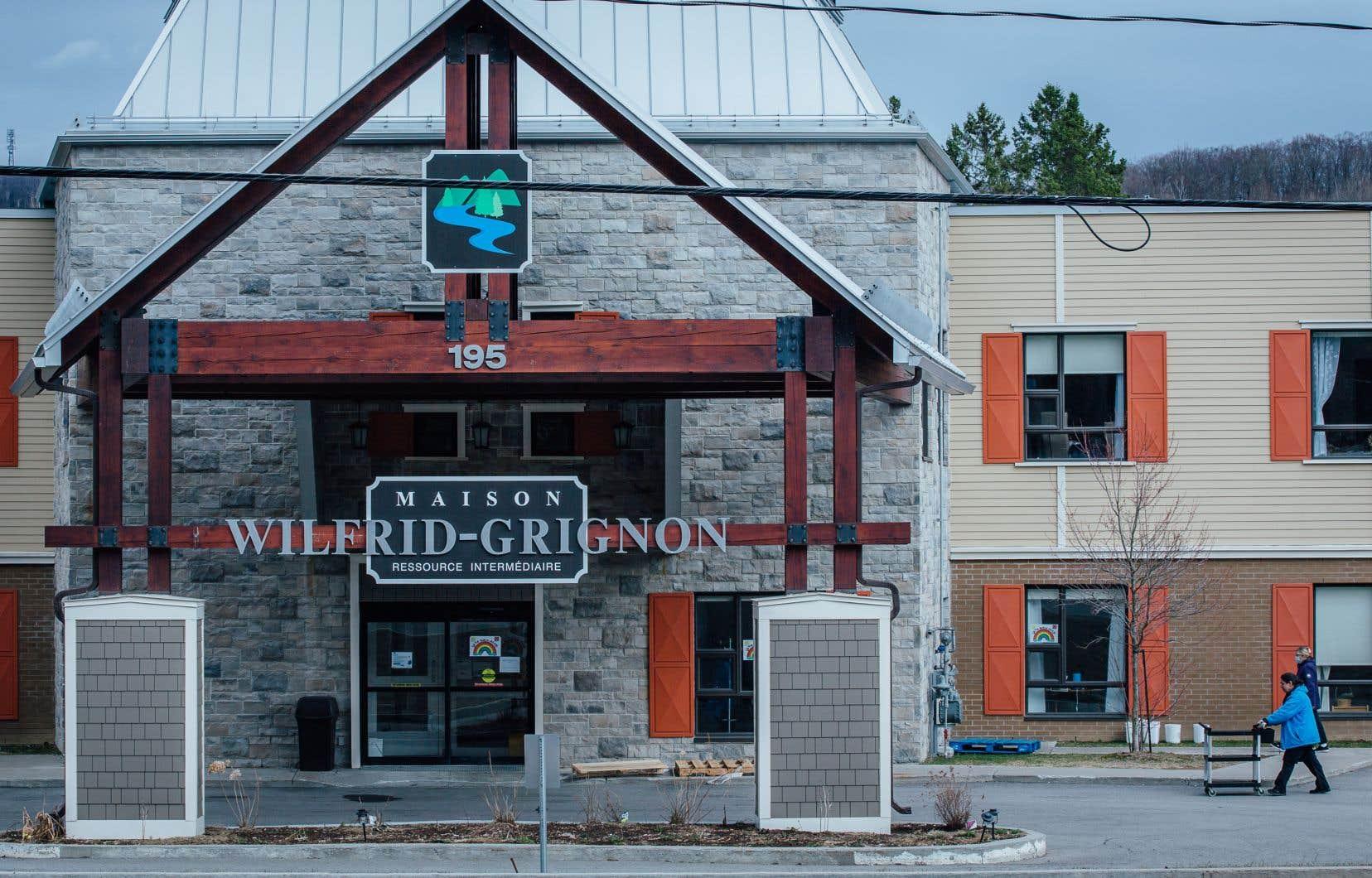 La Maison Wilfrid-Grignon, à Sainte-Adèle, où une équipe du CISSS des Laurentides a été dépêchée pour prendre soin des aînés.