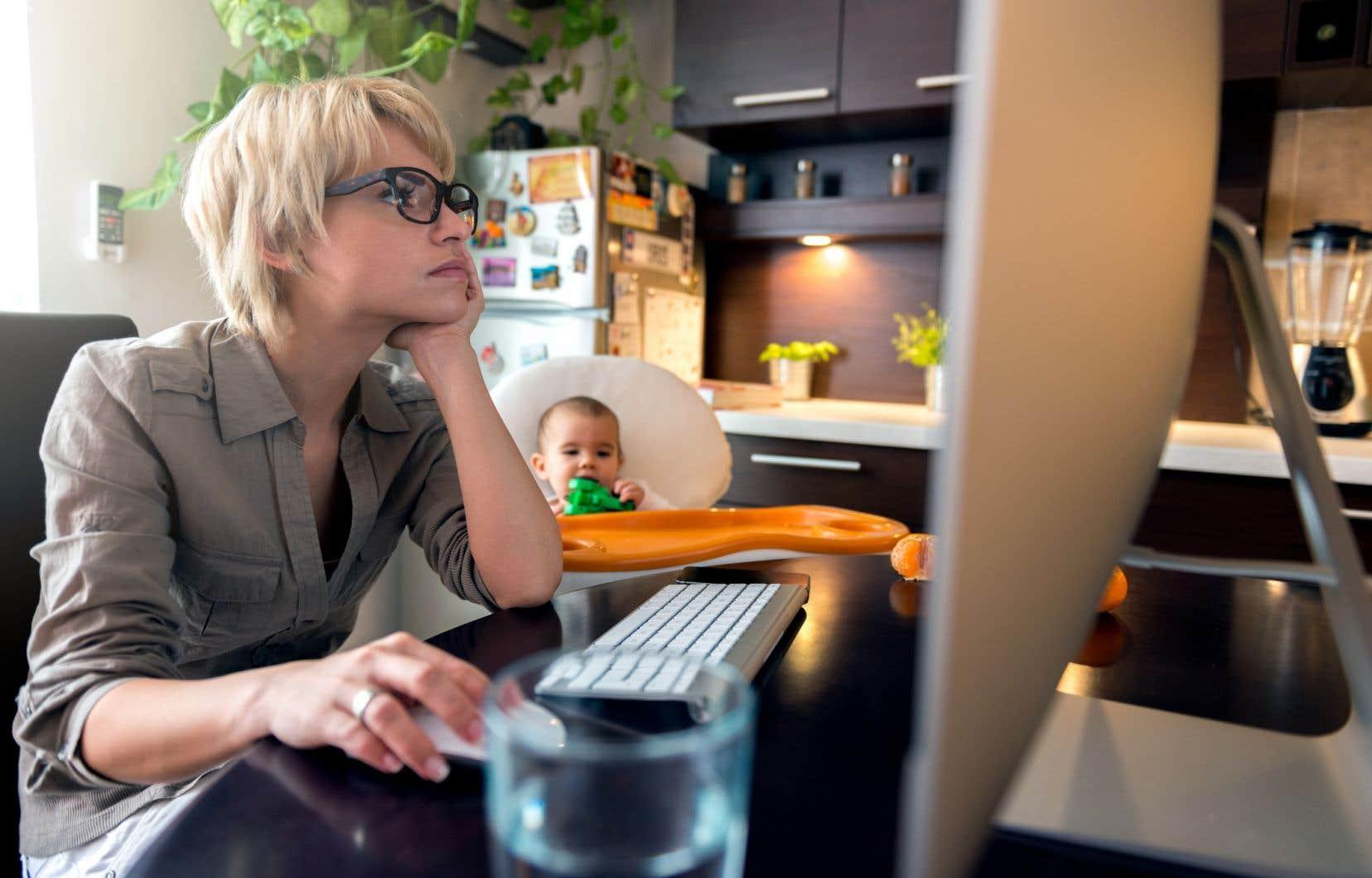 <p>Les données indiquent que le tiers des répondants en télétravail estiment que leur productivité a augmenté.</p>