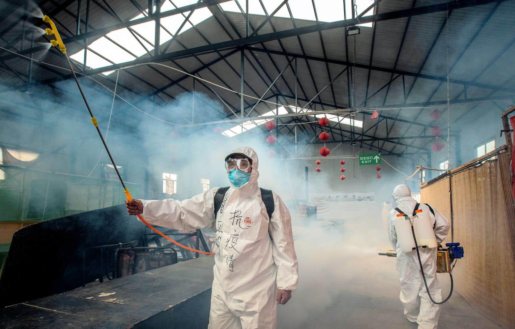Pékin déclare avoir rapidement partagé avec l'Organisation mondiale de la santé (OMS) et d'autres pays toutes les données à sa disposition.