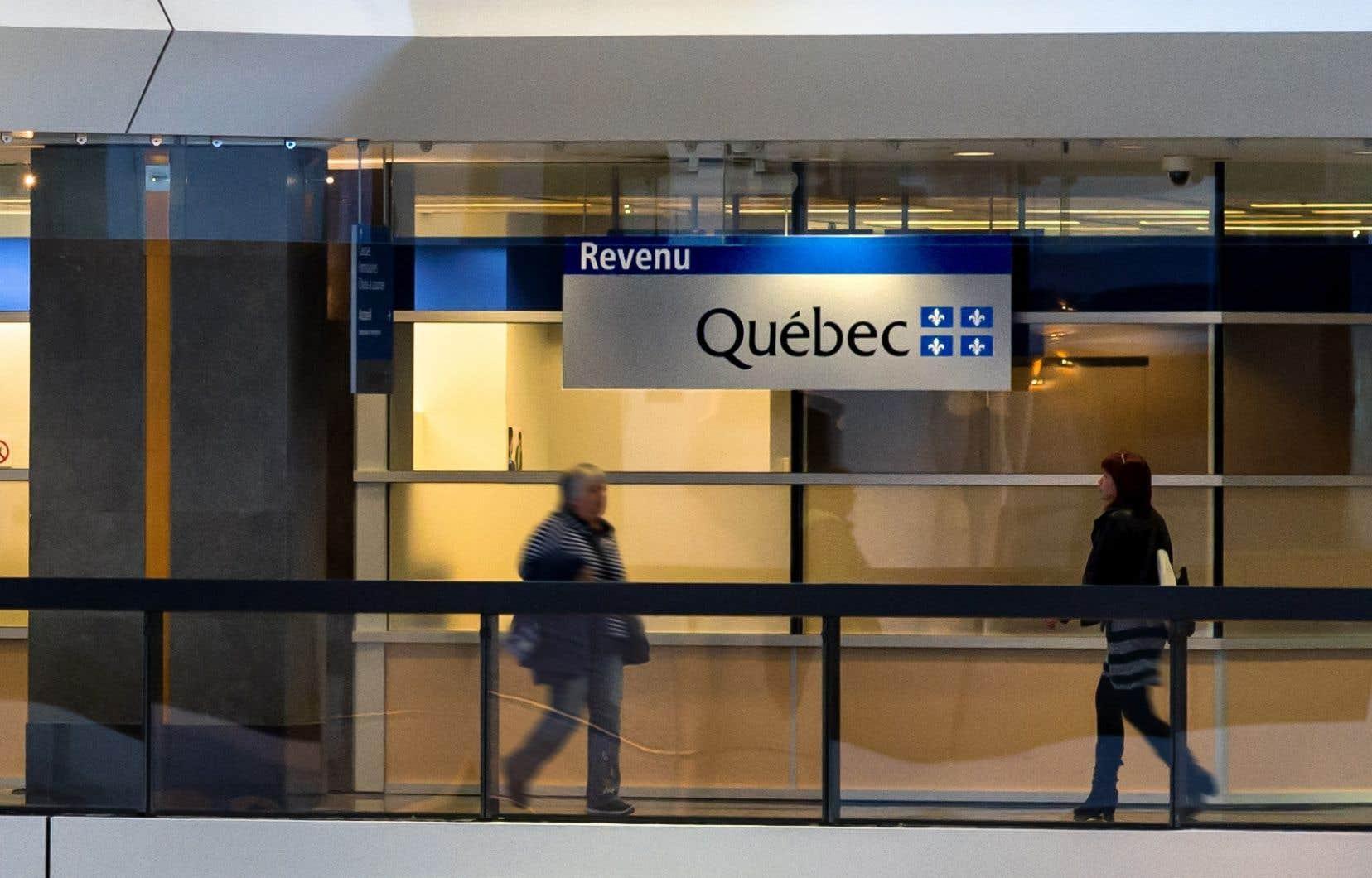 À Revenu Québec, les fonctionnaires ont reçu la directive de traiter un peu plus rapidement les déclarations des contribuables qui attendent un remboursement d'impôt.