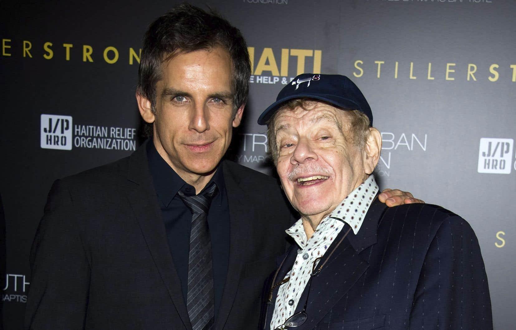 Ben Stiller et son père Jerry, en 2011