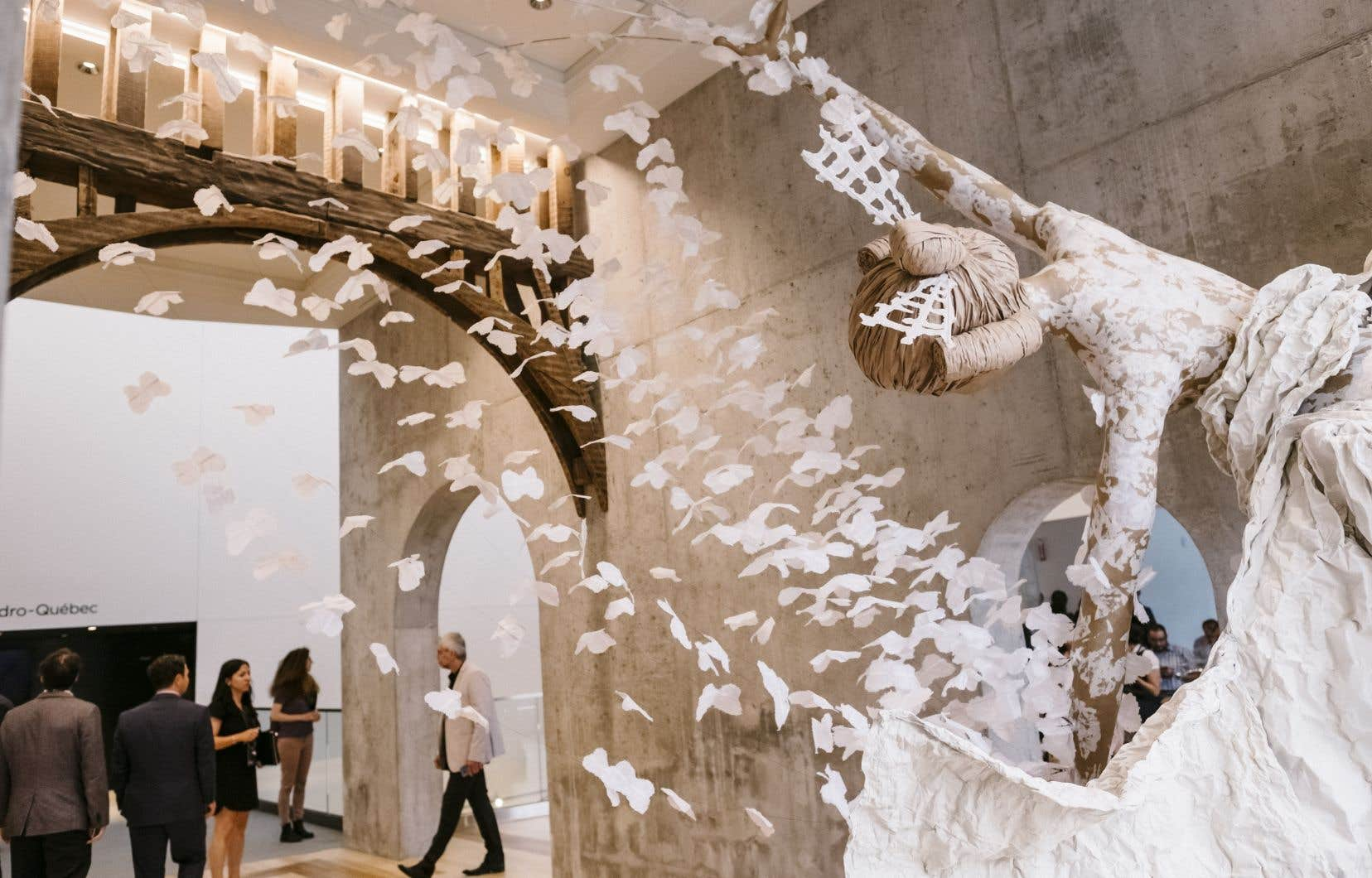 La salle Le Diamant à Québec. Les arts peineront à se remettre de la crise.