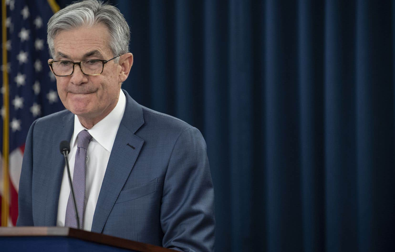 Le président de la Réserve fédérale des États-Unis, Jerome Powell