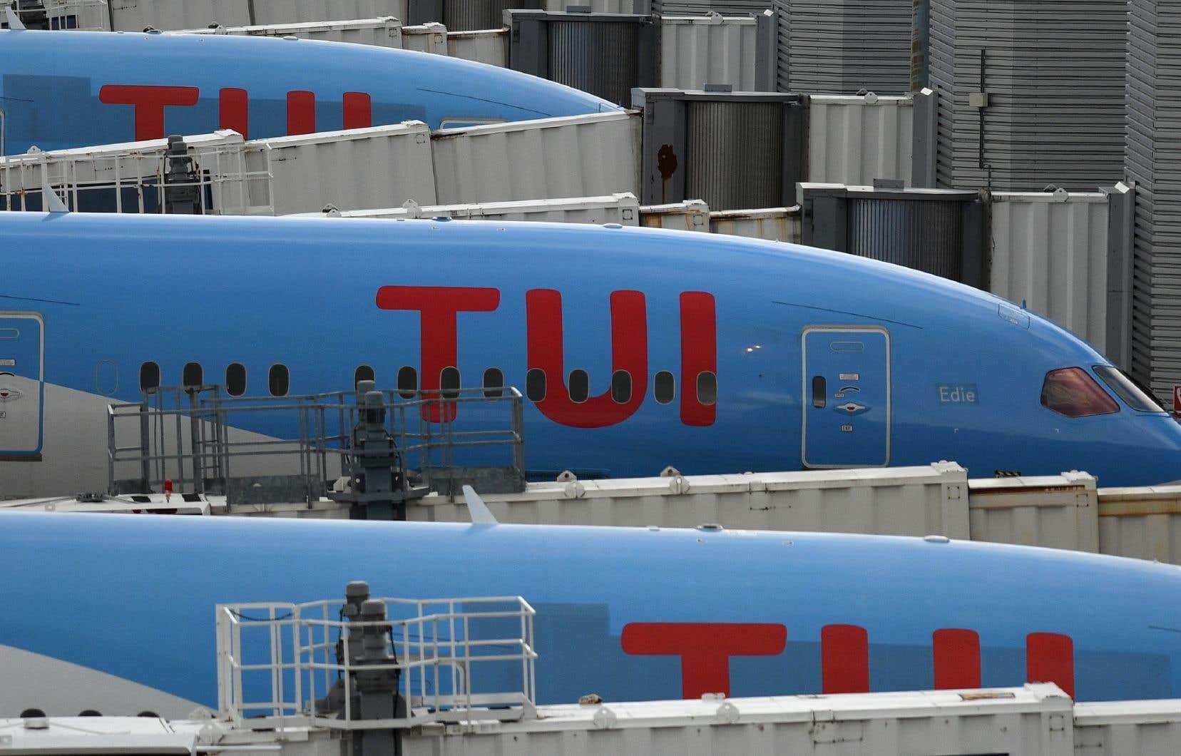 TUI a mis ses activités à l'arrêt jusqu'à la mi-juin, et mise sur une Europe sortant progressivement du confinement.