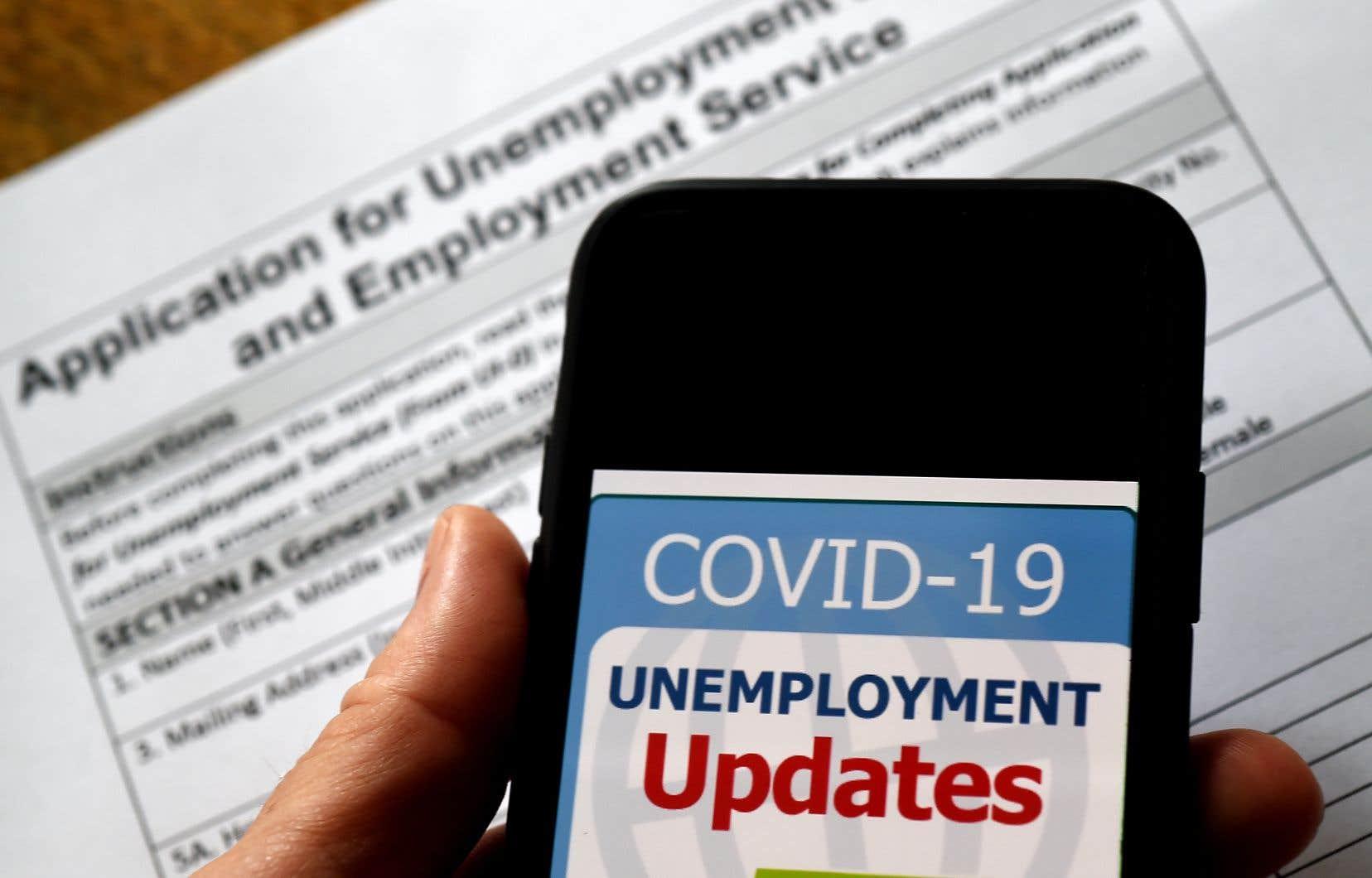 Un total de plus de 36 millions d'Américains se sont inscrits sur le chômage en deux mois.