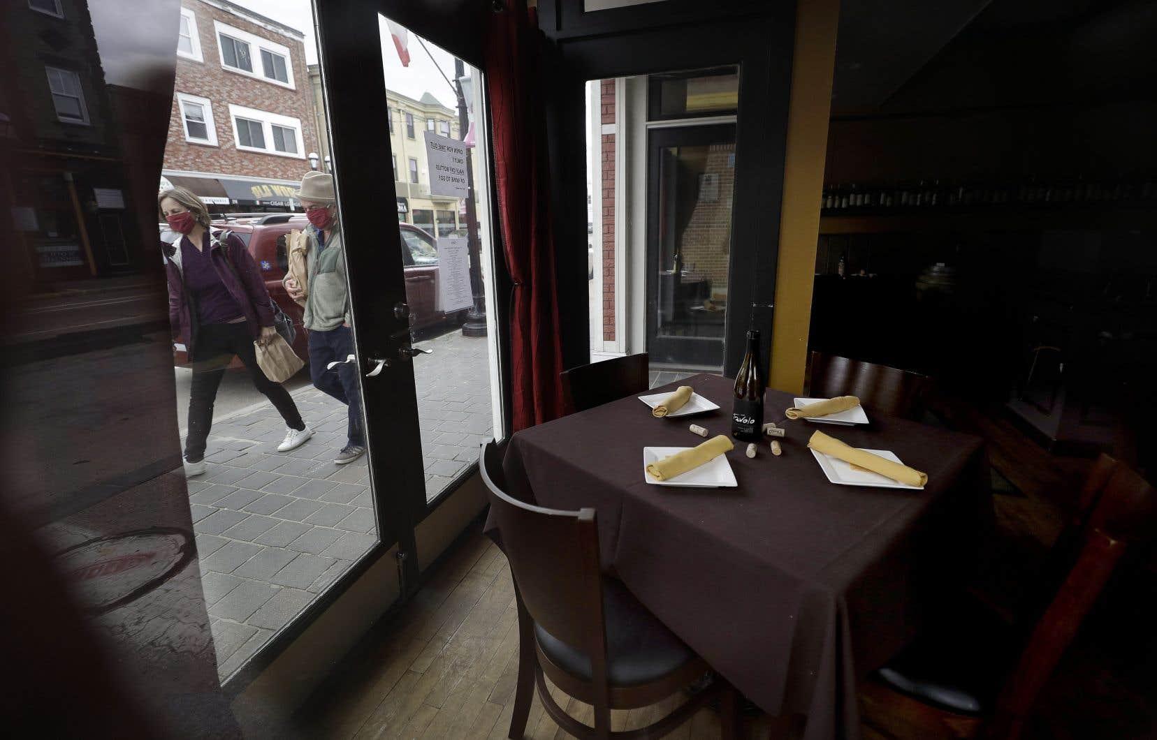 Les restaurateurs sont nombreux à avoir utilisé une ou plusieurs mesures d'aide offertes par les gouvernements provincial et fédéral.