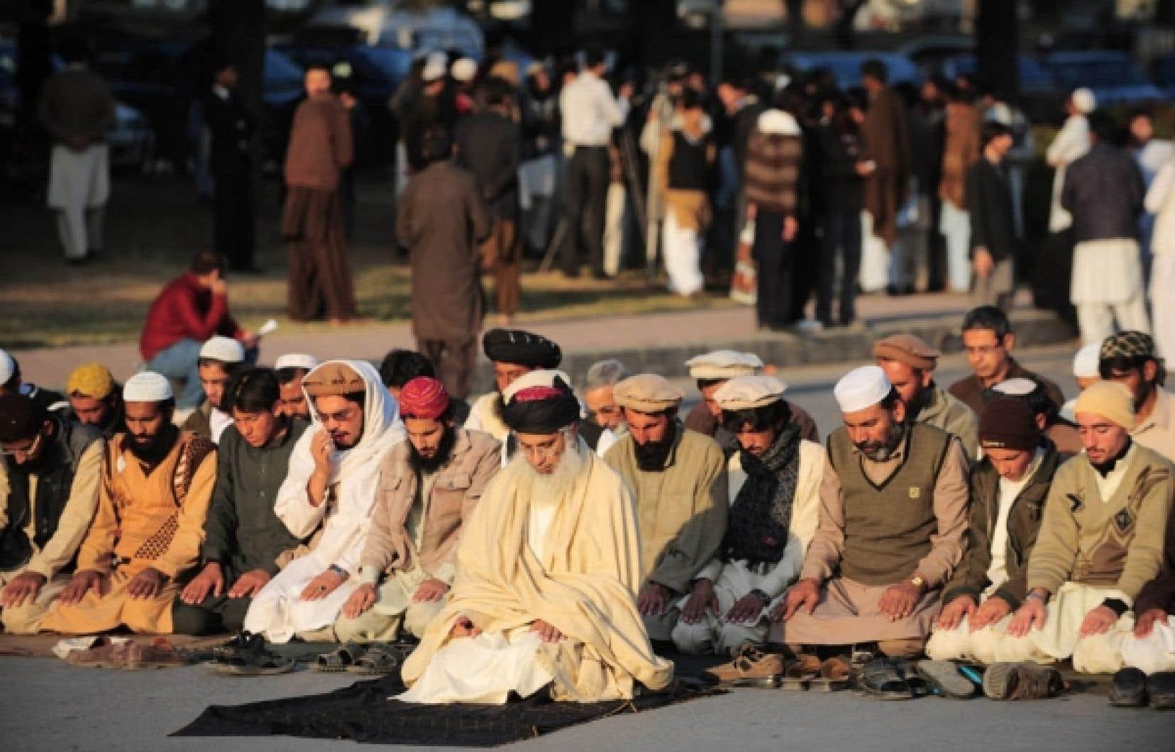 Des chefs tribaux du Waziristan du Nord ont protesté contre les raids américains au début du mois.<br />