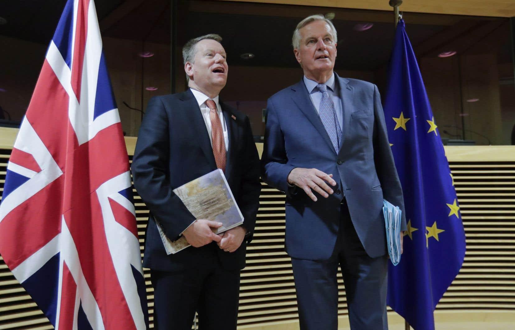 Le négociateur britannique, David Frost, et celui de l'Union Européenne, Michel Barnier, sont d'accord: les négociations du Brexit ont très peu progressé.