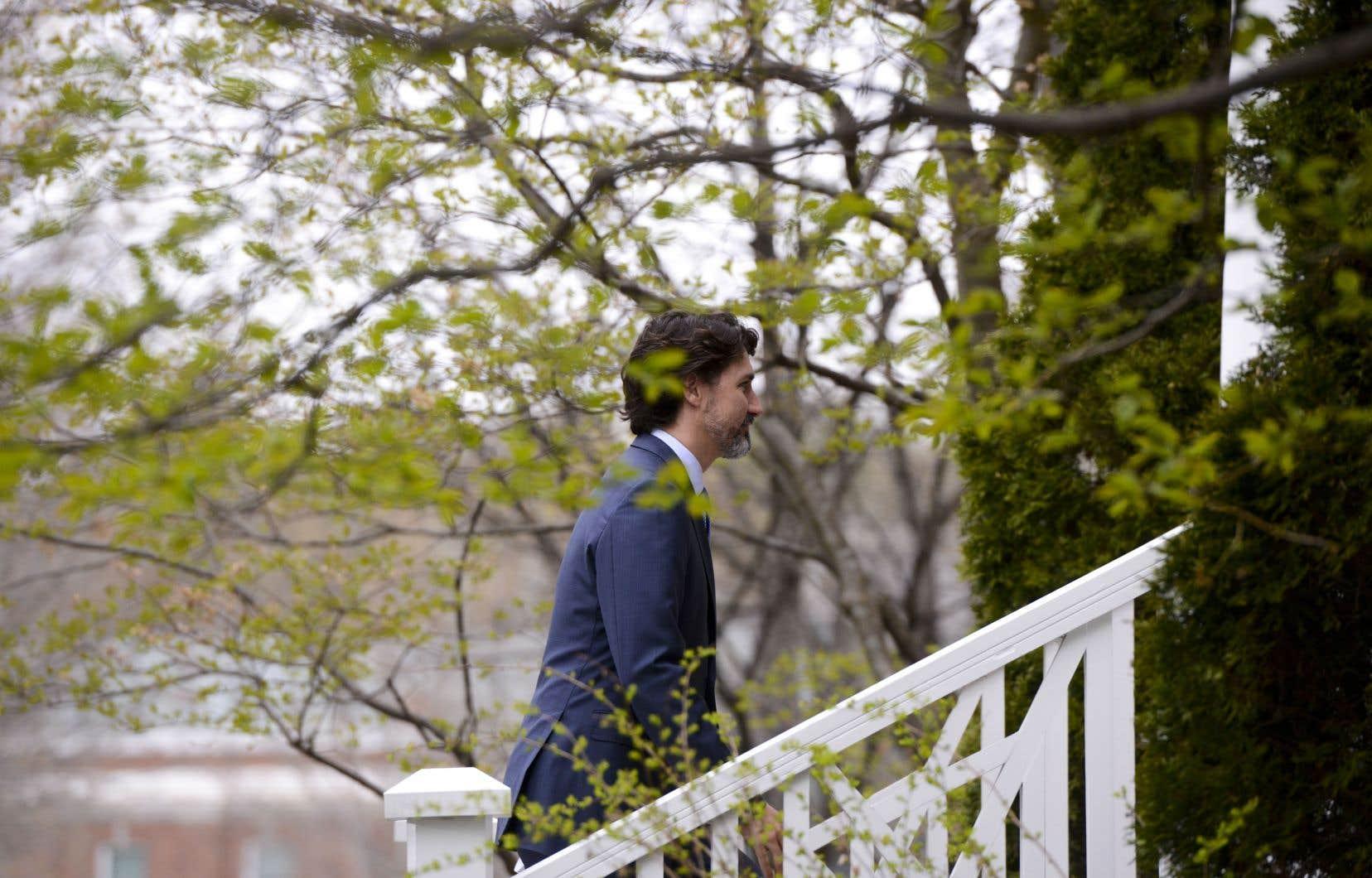 Le premier minsitre du Canada, Justin Trudeau